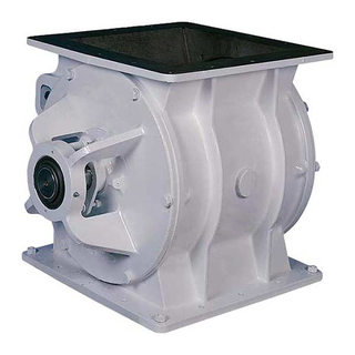 Abrasion Resistant Rotary Airlock Valves