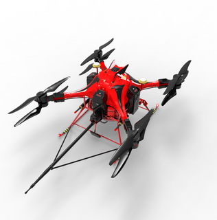 Electric Fire Fighting Rescue UAV /Aircraft